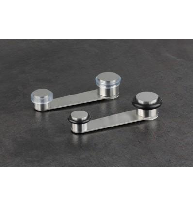 Retainers stainless steel doorstops (I-164)