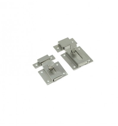 Brass Latches- Dull chrome (Ref 300)