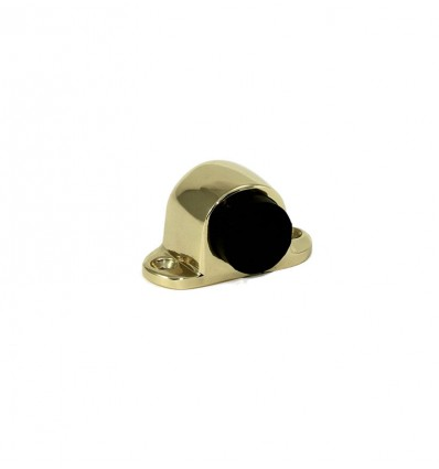 Brass Doorstops with screw (I-104) - Bright