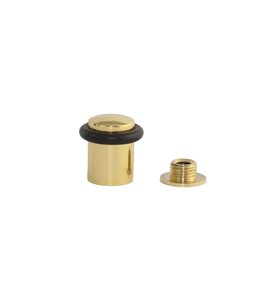 Delicieux Brass Doorstops, With Base With Screw (I 108)