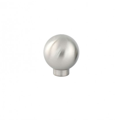 Stainless Steel Knobs (Ref 1021) - Matt inox