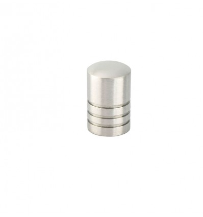 Stainless Steel Knobs (Ref 1014) - Matt inox