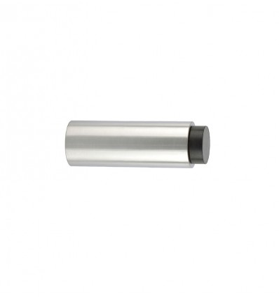 Stainless Steel wall-handle stops - Black Rubber (Ref: 198-75)