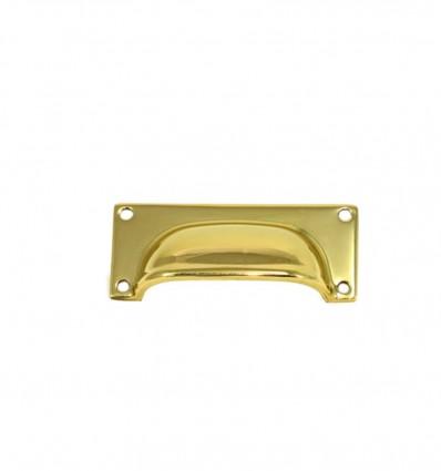 Brass pull handles - Bright (Ref 3050)