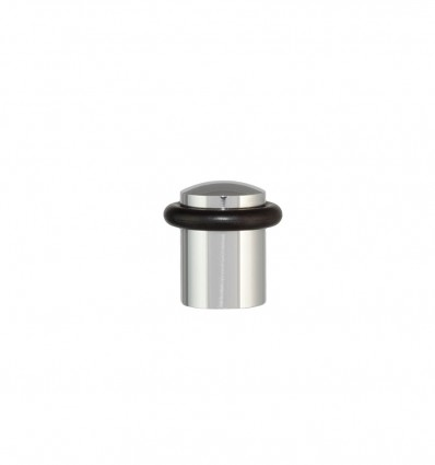 Stainless steel doorstops with screw (I-108) - Bright